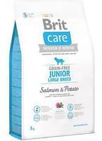 Brit Care Junior Large Breed Salmon   Potato 3 kg Корм для молодых собак крупных пород с лососем и картофелем