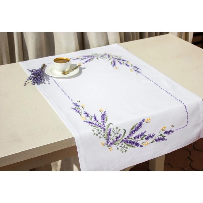 Набір для вишивки хрестом Luca-S FM012 «Лаванда»
