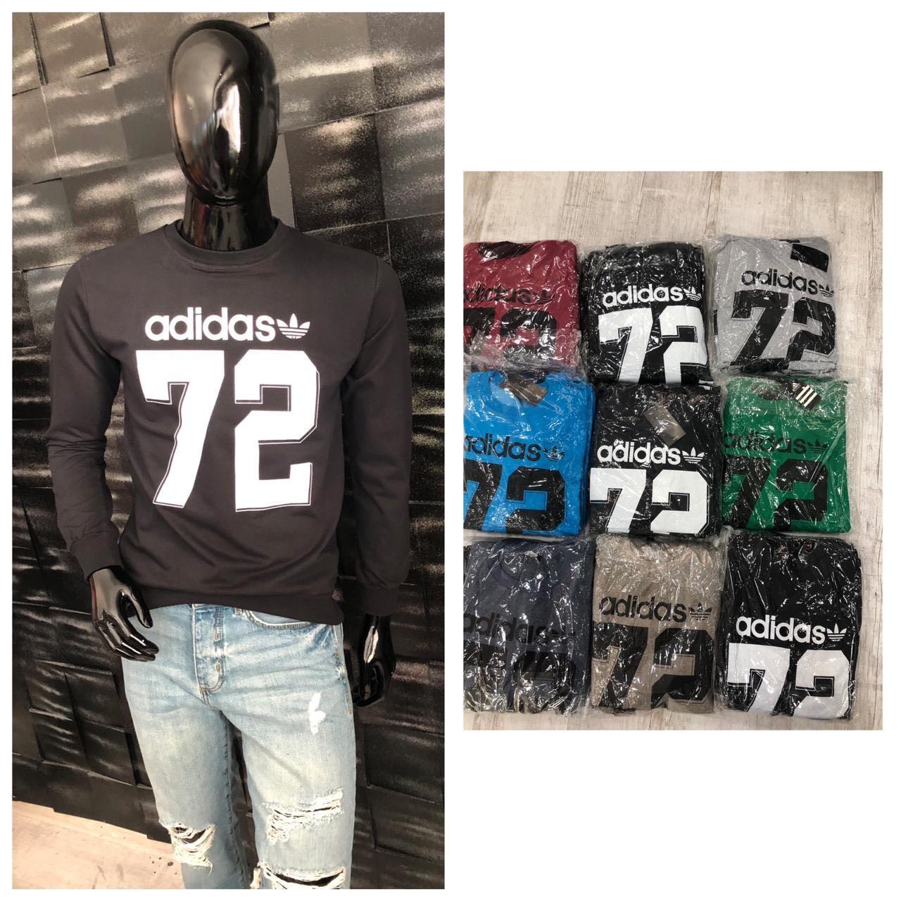 Свитшот мужской Adidas. Супер качество, Турция. Размеры  M L XL XXL, расцветки