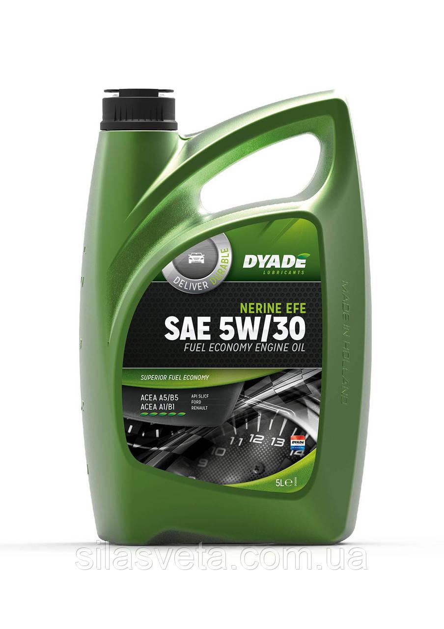 Автомобильное моторное масло синтетическое DYADE Nerine EFE SAE 5W30 (5Л)