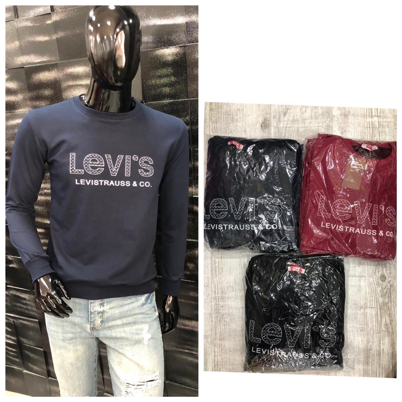 Свитшот мужской Levi's. Супер качество, Турция. Размеры  M L XL XXL, расцветки