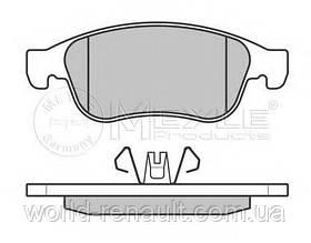 Комплект передних тормозных колодок на Рено Гранд Сценик III/ MEYLE 025 249 1418