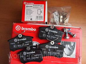 Комплект задних тормозных колодок Рено Гранд Сценик III / BREMBO P85017