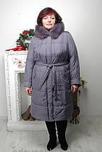 Женское зимнее пальто с капюшоном «Ультра 2». р-ры 60,62,64, фото 3