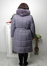 Женское зимнее пальто с капюшоном «Ультра 2». р-ры 60,62,64, фото 2