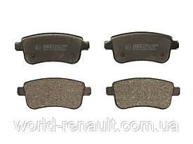 Комплект задних тормозных колодок Рено Меган 3, Рено Флюенс/ ABE C2R013ABE