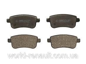 Комплект задних тормозных колодок (электро ручник) Рено Меган 3, Рено Флюенс/ ABE C2R013ABE