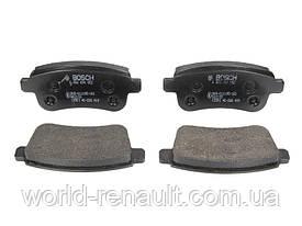 Комплект задних тормозных колодок Рено Меган 3, Рено Флюенс/ BOSCH 0 986 494 452