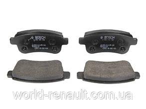 Комплект задних тормозных колодок (электро ручник) Рено Меган 3, Рено Флюенс/ BOSCH 0 986 494 452