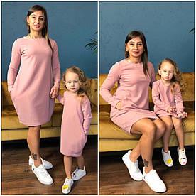 Платье мама/дочка люрекс, размер дочка 86-92см, 98-104, 110-116