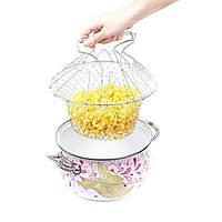Складная решетка для приготовления Magic Kitchen Chef Basket (Шеф Баскет)