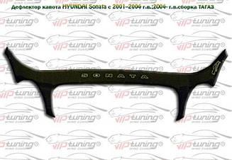 Дефлектор капота для Hyundai Sonata (EF) (2001-2004) (VT-52)