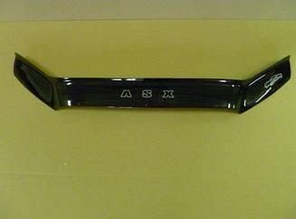 Дефлектор капота для Mitsubishi ASX (2010>) (VT-52)
