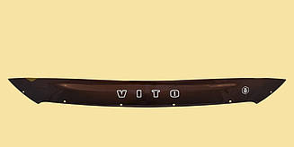 Мухобойка Mercedes Vito (W447) (короткий) (2014>) (VT-52) Дефлектор капота