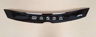 Дефлектор капота для Mazda 5 (короткий) (2005-2010) (VT-52)