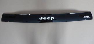 Мухобойка Jeep Grand Cherokee (ZJ) (1993-1998) (VT-52) Дефлектор капота накладка