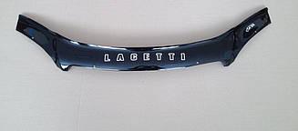 Мухобойка Chevrolet Lacetti (хэтчбэк) (2003>) (VT-52) Дефлектор капота накладка