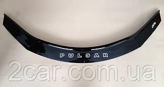 Дефлектор капота для Nissan Pulsar (2014>) (VT-52)