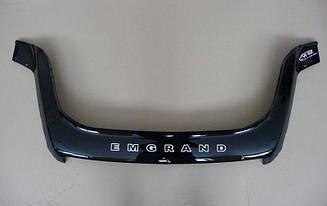 Мухобойка Geely Emgrand X7 (2013>) (VT-52) Дефлектор капота накладка