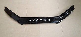 Дефлектор капота для Hyundai Avante (HD) (2006-2010) (VT-52)