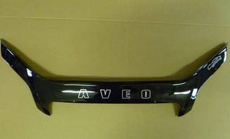Дефлектор капота для Chevrolet Captiva (2006-2011) (VT-52)