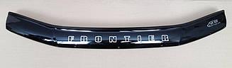 Мухобойка Nissan Frontier (D40) (2005>) (VT-52) Дефлектор капота накладка