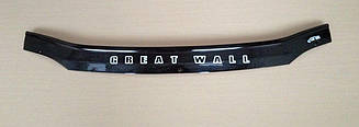Мухобойка Great Wall SA220 (2009-2010) (VT-52) Дефлектор капота накладка