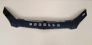 Мухобойка Tоyоta Corolla E12 H/B (2002-2007) (VT-52) Дефлектор капота накладка