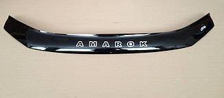 Мухобойка VW Amarok (2010>) (VT-52) Дефлектор капота