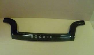 Мухобойка Renault Trafic (2001>) (VT-52) Дефлектор капота