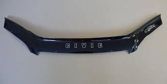 Дефлектор капота для Honda Civic (седан) (2001-2003) (VT-52)
