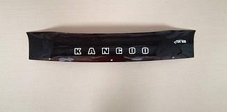 Дефлектор капота для Renault Kangoo (короткий) (до рестайлинга) (2003-2007) (VT-52)