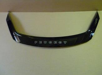 Мухобойка Peugeot 807 (2002-2011) (VT-52) Дефлектор капота накладка