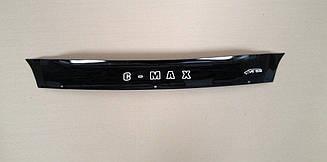 Мухобойка Ford C- MAX (короткий) (2003-2006) (VT-52) Дефлектор капота накладка