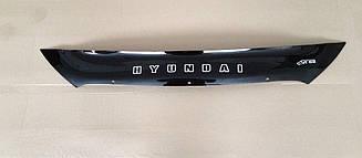 Дефлектор капота для Hyundai ix35 (короткий) (2010>) (VT-52)