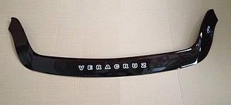 Дефлектор капота для Hyundai Veracruz (2007>) (VT-52)