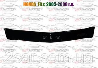 Дефлектор капота для Honda Fit (2005-2008) (VT-52)