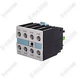 Блок допоміжних контактів Siemens 3RH1921-1FA22, 2NO + 2NC, фото 2