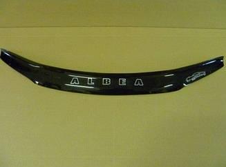 Дефлектор капота для Fiat Albea (2007>) (VT-52)