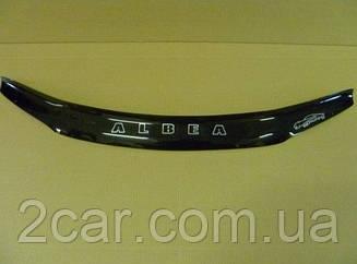 Мухобойка Fiat Albea (2007>) (VT-52) Дефлектор капота
