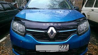 Дефлектор капота для Renault Kangoo (короткий) (1997-2003) (VT-52)