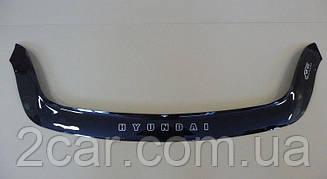 Дефлектор капота для Hyundai ix55 (2008>) (VT-52)