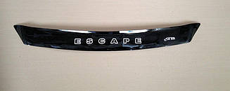 Мухобойка Ford Escape (короткий) (2012>) (VT-52) Дефлектор капота накладка