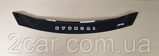 Дефлектор капота для Hyundai i40 (короткий) (2011>) (VT-52)