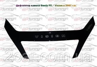 Мухобойка Geely FC (2007>) (VT-52) Дефлектор капота накладка