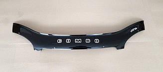 Мухобойка Opel Combo B (1993-2001) (VT-52) Дефлектор капота накладка