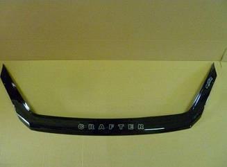 Дефлектор капота для VW Crafter (2007>) (VT-52)