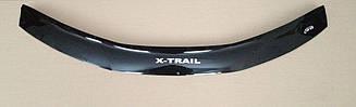 Мухобойка Nissan X-Trail T-32 (2014>) (VT-52) Дефлектор капота накладка