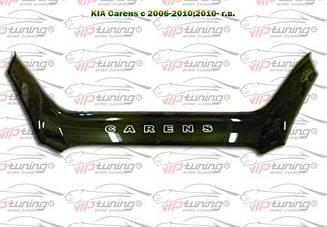 Дефлектор капота для Kia Carens (2006-2010) (VT-52)