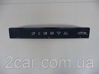 Мухобойка Ford Fiesta (короткий) (2002-2008) (VT-52) Дефлектор капота накладка